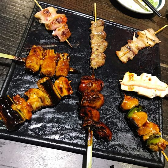 Food And Drink Food Freshness Meat No People Barbecue High Angle View