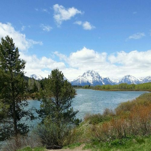 The most beautiful place in Wyoming The Grand Tetons Grand Tetons Nofilter
