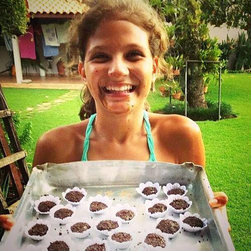 Fazendo brigadeiroo!! Delicious ♡ Chocolate Cooking Grandma's Birthdayy❤  Bday Quelambança 😂👏😍😘