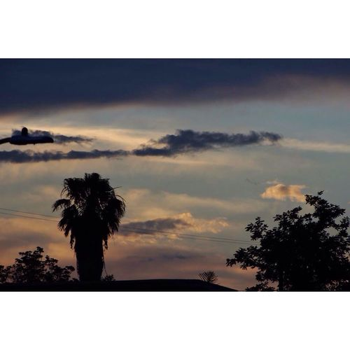 Sunset Silhouettes Sunset Clouds Visionarygape