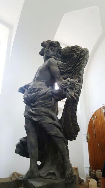 Hospital Kuks Czech Republic Statue Braun