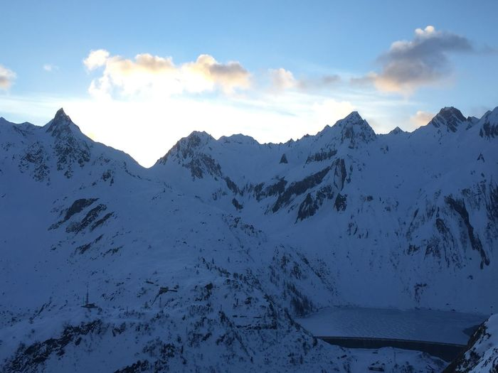 Winter view of