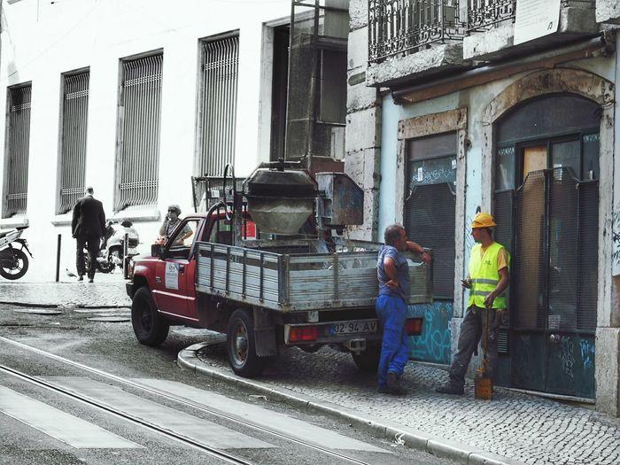 Men Streetwork