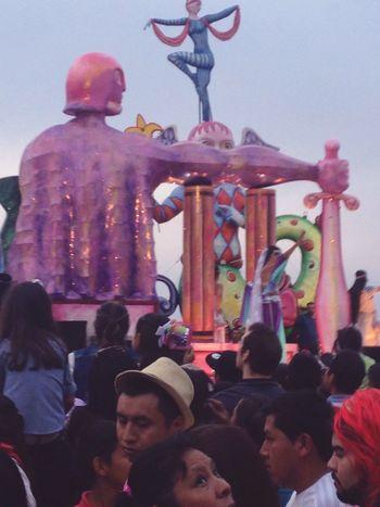 Colors Of Carnival Carnival Mazatlan 2016 Strong Man Sculpture Emperor Mazatlantida Sunday