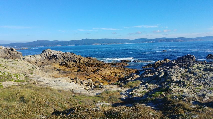 Sea Beach Outdoors Nature No People Day Water Scenics Tranquility Landscape Horizon Over Water Sky Beauty In Nature Faro Roncudo Galicia, Spain
