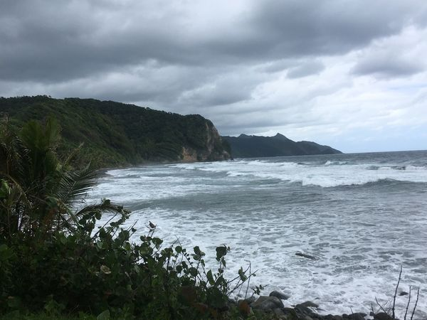 Dominica Beach Beauty In Nature Day Nature No People Outdoors Scenics Sea Sky Water Wave