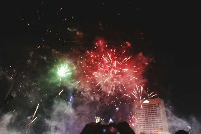 #firework 2018 Celebration Firework Display Arts Culture And Entertainment Firework - Man Made Object Night Exploding Event People