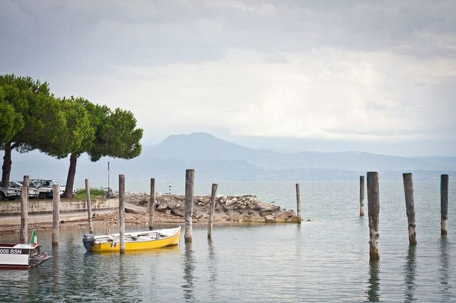 Italy Sirmione Lake Garda Lago Di Garda Garda Traveling Water Lake Boat The Traveler - 2015 EyeEm Awards