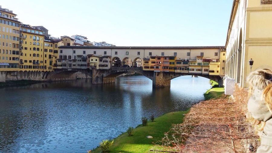 Florence Italy Ponte Vecchio Fluss Arno  EyeEm Brücke