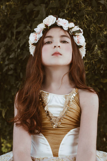 Girl of the Garden Fashion Portrait Of A Woman Young Beautiful Woman Beauty Close-up Day Floral Flower Flower Collection Flower Head Flowers Girl Glamour One Person Outdoors Portrait Portrait Photography Portraiture Real People Young Adult Young Girl Young Women