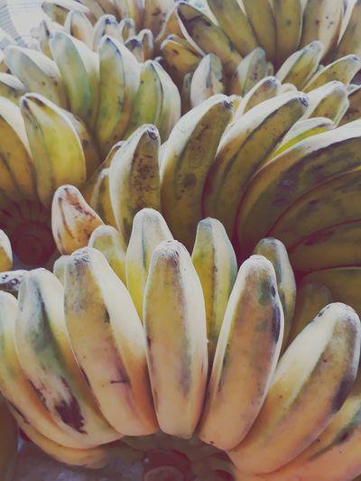 banana pale yellow ripe at market closed up EyeEm Selects Close-up