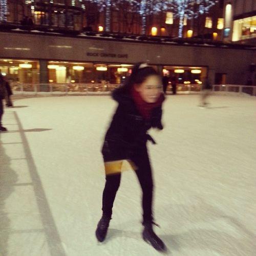 Rockefeller Manhattan Snow Newyork ●
