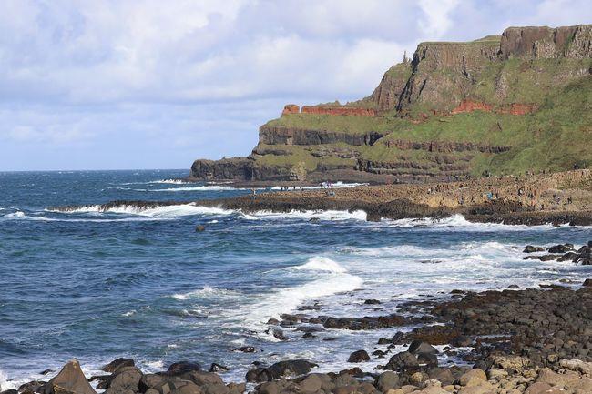 Sea Water Sky Land Cloud - Sky Beach Beauty In Nature Motion Wave Rock