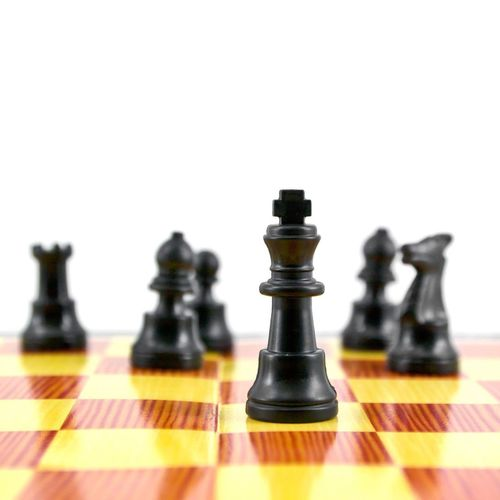 Chess Chess Strategy Chess Piece Chess Board King - Chess Piece Leisure Games White Color Pawn - Chess Piece Black Color Queen - Chess Piece Competition Knight - Chess Piece White Background Competitive Sport Indoors  No People