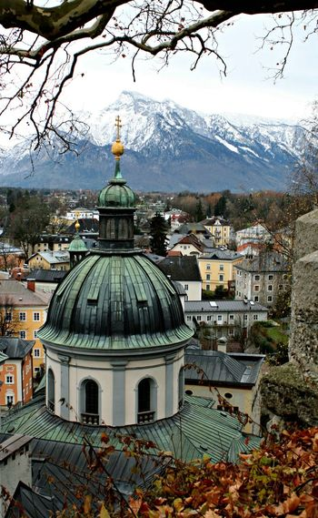 Architecture Building Exterior Built Structure Church Cityscape Day Dome Mountain No People No People, Outdoors Place Of Worship TOWNSCAPE Travel Destinations