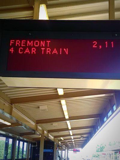 Bart Station Transportation My Photography My Commute