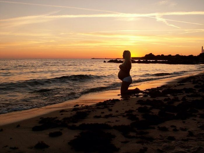 Sunset Beach EyeEm Best Shots Nature Pregnancy...
