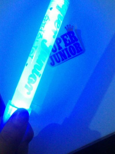 Light Stick non off Sapphire Blue Super Junior