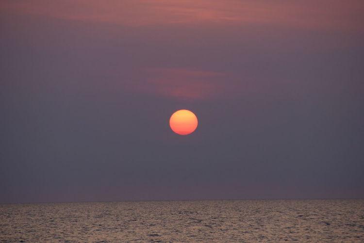 Sun Set Visby Gotland
