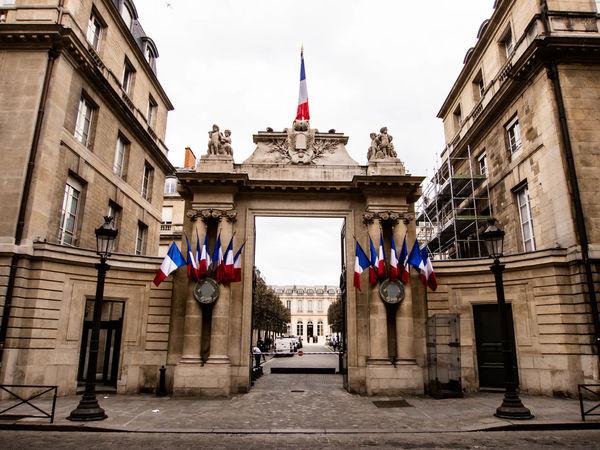 Paris, Assemblée Nationale Architecture Building Building Exterior City Façade Flag French Flag No People Outdoors Paris Parliament Patriotism Symmetry