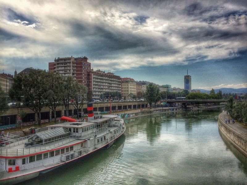 Danube Channel HDR Hdr_Collection VSCO Vienna