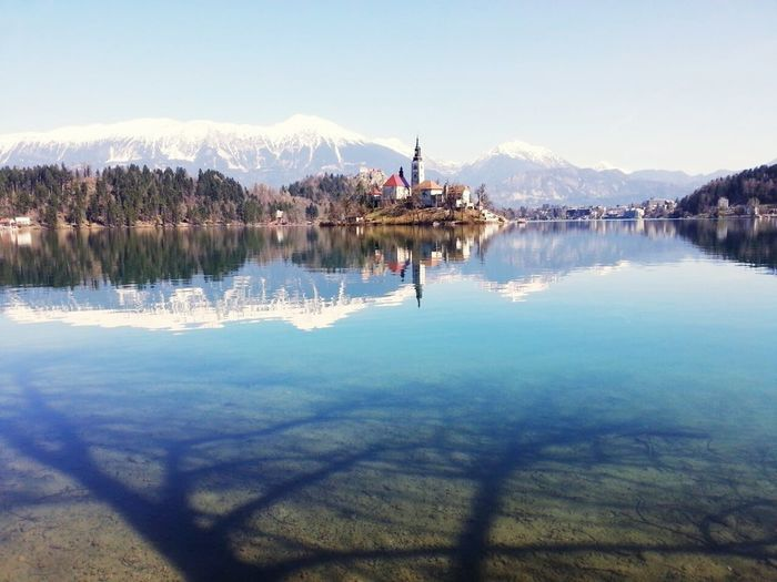 Bled, Slovenia Peaceful Water Reflections Lakes  Relaxing Slovenia Lake View Nature Beutiful Day Travel Landscapes Bled Amezing Enjoying Life EyeEm Best Shots