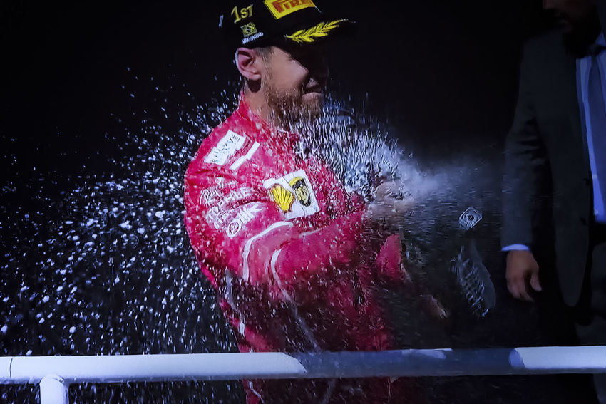 Sebastian Vettel wins today the Brazilian Grand Prix 2017 Brazilian Grand Prix 2017 Formula 1 Scuderia Ferrari Sebastian Vettel São Paulo Day Leisure Activity Lifestyles One Person Outdoors People Race Real People Red Speed Young Adult F1 Driver F1 Pilot