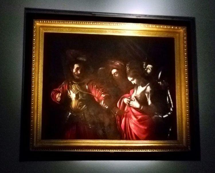 Caravaggio. Il martirio di S.Orsola The Culture Of The Holidays No People Naples wonderful city