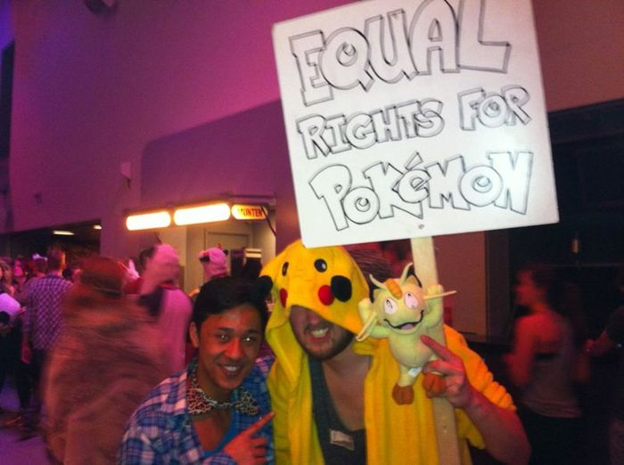 Equal Rights For Pokemon.
