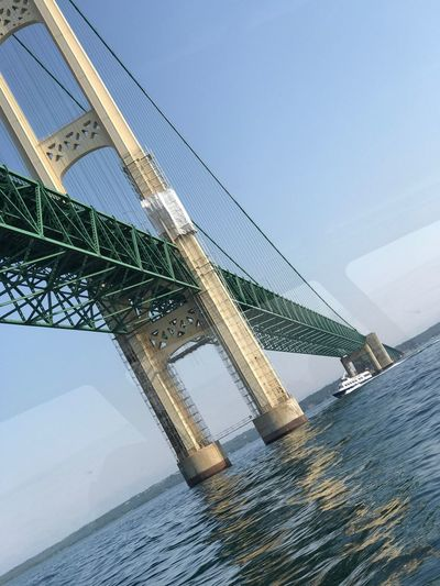 Water No People Transportation Day Sea Built Structure Architecture Outdoors Sky Connection Waterfront Clear Sky Bridge - Man Made Structure Horizon Over Water Nature Nautical Vessel