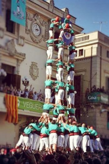 Collected Community castellers de vilafranca