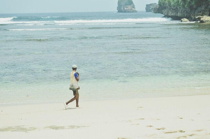 nelayan terumbu karang Jangan Ambil Karang Kami Pak