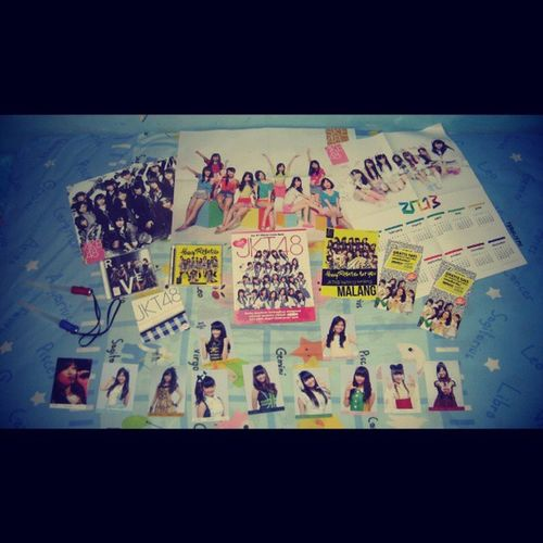 All swag Mine Collection Photopack Ogb cd poster idol 48fans 48family instagood instamood jj