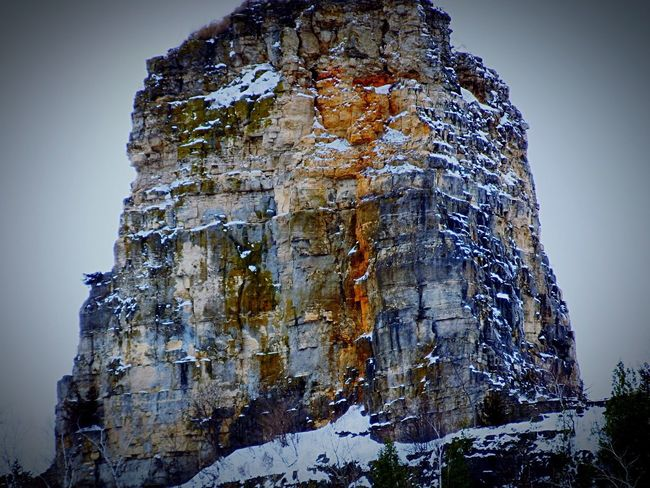 Sugarloaf's Cross Crux Cross Sandstone Limestone Karst Driftless Region Hills Bluffs Chief Wapasha's Cap Sioux Dakota  Minnesota Topology Quarried
