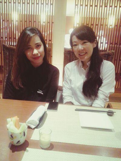 itadakimasu!!! Japanese  Japanese Culture Asian Girl Luncheon Wefie😘😘 Japanpark Suria KLCC