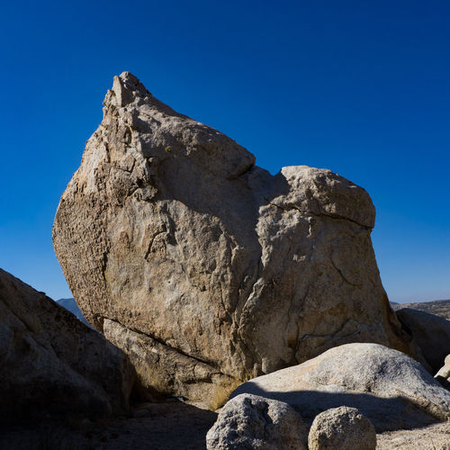 Rock - Object Nature Geology Day No People Outdoors Travel Destinations Blue Beauty In Nature Physical Geography Mountain Clear Sky Sky Desert Rocks Landscape McCain Valley Southern California Hiking Scenics Arid Climate Boulders