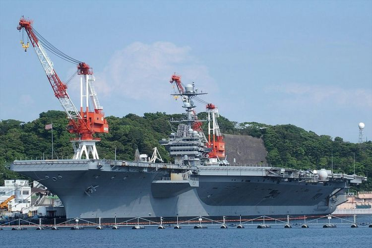 Aircraft carrier CVN-73 USS George Washington.Farewell George!もうすぐ交替で日本を去る空母ジョージワシントン。 Military Aircraft Carrier Usnavy Japan Photography ~カメログまたここで~ Taking Photos