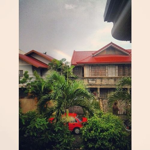 There's a rainbow after the rain. AntipoloMadness Instaview RainyWeekend