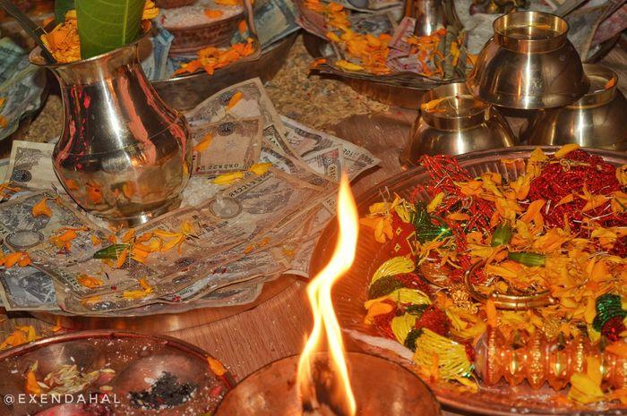 Nepal Laxmipuja Tihar Festival Of Light And Colour Tihar