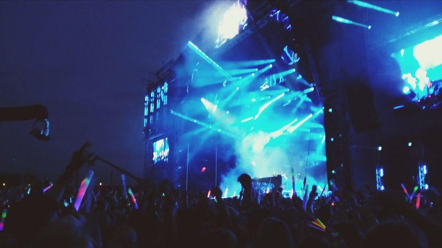 At the Weekend Festival! Amazing Enjoying Life Party Hard