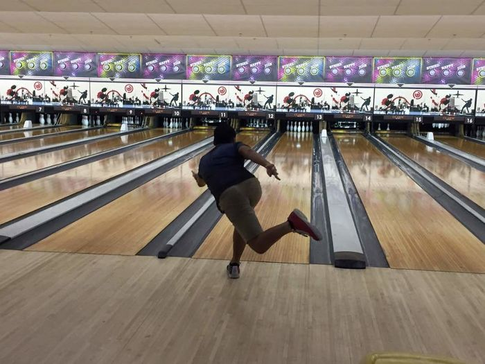 bowling Throwing Bowling Ball Bowling Bowling Style Sport Sports Event  First Eyeem Photo