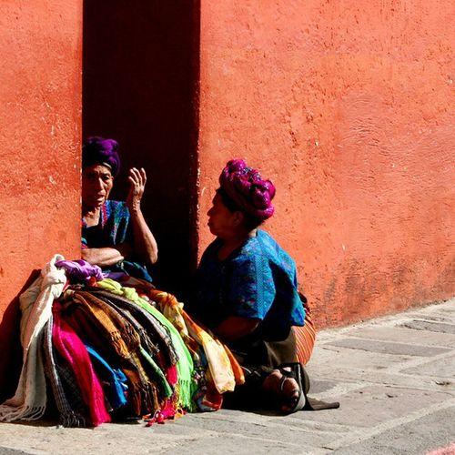 Thetalk AntiguaGuatemala Beautifulcity People