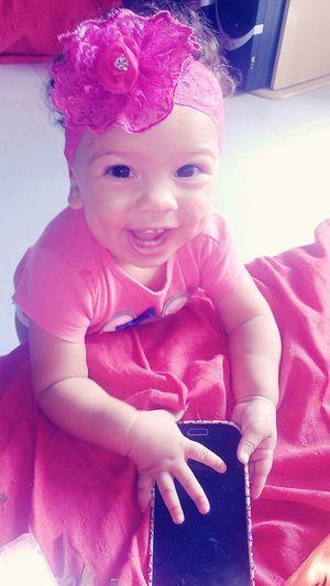 felicidade está na sensação que um simples riso de criança te proporciona 👑❤ Thaysla Littleprincess Lovesomuch
