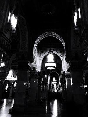 مكة من_تصويري Pics Arch Indoors  Architecture Corridor The Way Forward Built Structure Place Of Worship