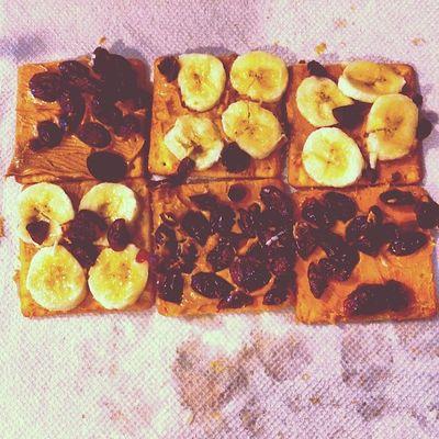 Peanut Butter*Bananna*Raspberry Craisin Nom