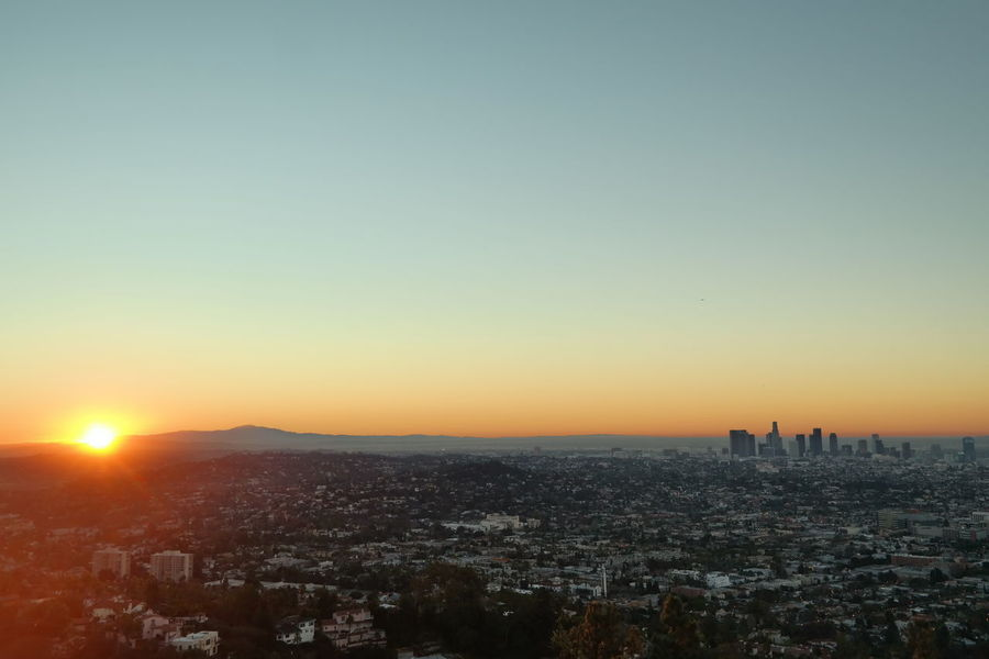 One big advantage of jet lag: You never feel too tired to get up for awesome sunrises! California California Love DowntownLA Los Angeles, California Showcase: January Skyline Sunrise Sunrise_sunsets_aroundworld The Week Of Eyeem The Week On EyeEm