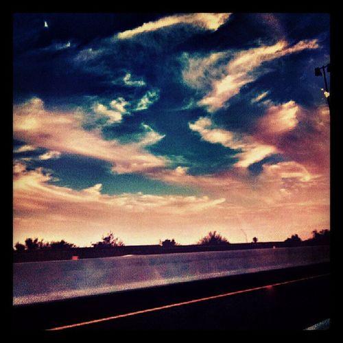 Instagramaz Igersphx Igersonly Phoenixaz Arizonahighways Drivebyphoto Freeway Cloudporn Skyporn Colorful Sunsets PixlrExpress Silhouette Mountains Clouds Floatingonby Abstractskies @arizonaskies @sunsetsgram @ibeautyofnature Citylifeinaz Desertlivin Awesome Arizona Goodevening  :)