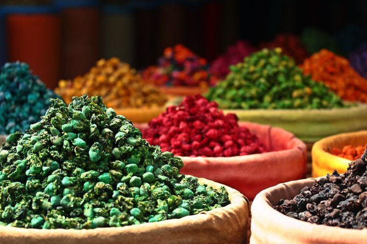 Abundance For Sale Market Multi Colored No People Retail Display Spice Variation
