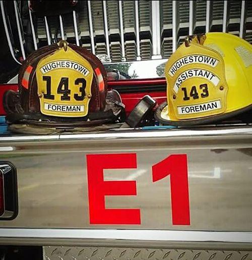 Forman life Firefighter Popular Photos Engine Company Leather For Ever E1 Hughestown Vfd