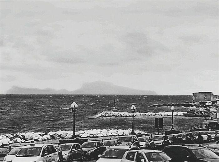 capri nella tempesta Essere Napoletano è Meraviglioso Napoli Naples Capri Sea Mare Tempesta Storm Storm Cloud